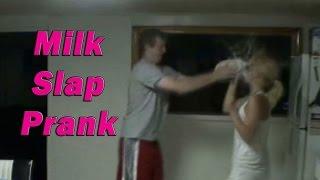 Sister Milk Jug Bitch Slap Prank