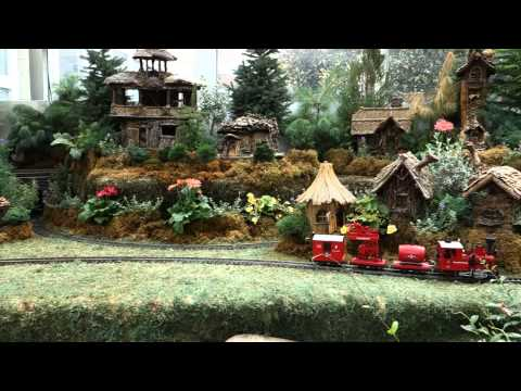 Garden Railroad At The Franklin Park Conservatory, Columbus, OH