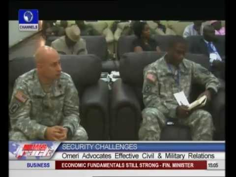 Security Challenges: Omeri Advocates effective civil,military relations