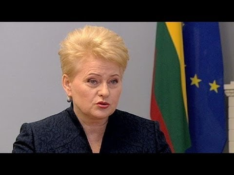 Lithuania President talks about Ukraine's future with Europe at Eastern Partnership summit