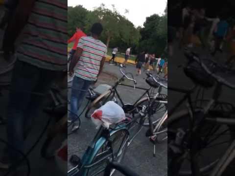 Brute mishandeling door groep Syriërs in Henri Dunantpark Eindhoven 1-6-2017
