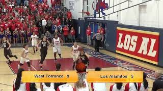 West Torrance Lady Warriors vs. Los Alamitos Griffins Girls Playoff 2-24-18 Division 1 CIF