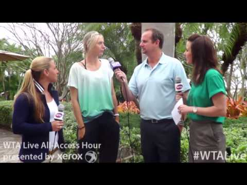 WTA Live 2013 Sony Open All-Access Hour | Maria Sharapova