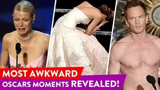 Oscars Cringiest Moments Of All Times | ⭐OSSA