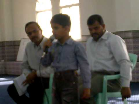 7 Year Old Boy Reciting Malayalam Poem video