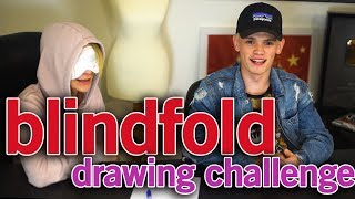Blindfold Drawing Challenge | Bars Vs Melody