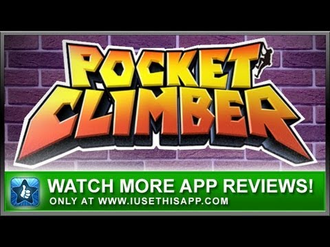 Pocket Climber iPhone App - Best iPhone App - App Review