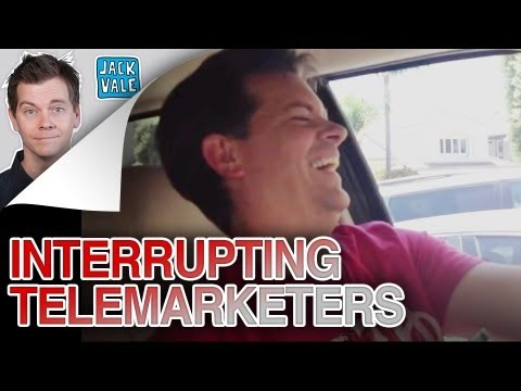 INTERRUPTING TELEMARKETERS (PHONE PRANK)