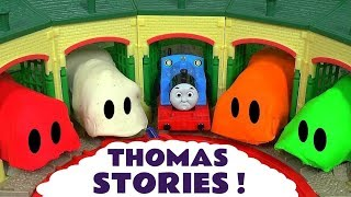 Thomas and Friends Games with Play Doh Stop Motion Tom Moss and Lion Guard Toys Surprise Eggs TT4U