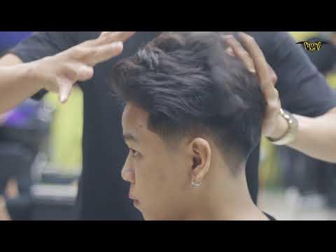 """Kiểu Tóc Xu Hướng Tết 2019 [ Side Part """"BẢNH"""" ] PhongBvB"""