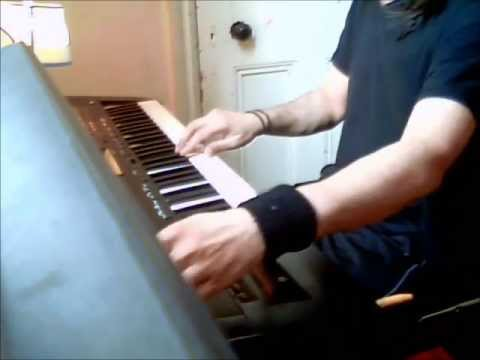 Aankhon Ke Sagar Instrumental On Keyboard