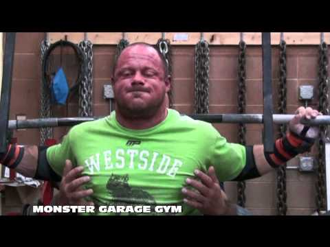 POWERLIFTING: Training Footage from MONSTER GARAGE GYM Image 1