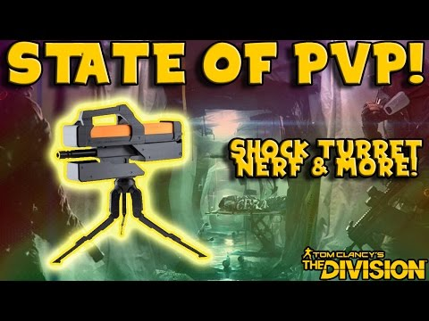 The Current State of PvP (The Division) Shock Turret Nerf!