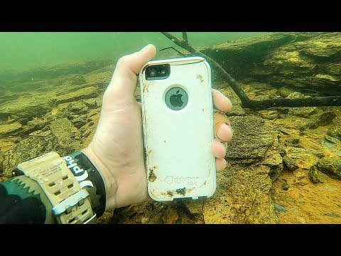 I Found an iPhone Underwater While Searching for Lost Valuables! (Underwater Finds)