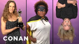 Batgirl Audition Tapes  - CONAN on TBS