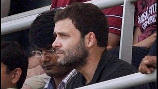 Modi Modi chant greets Rahul Gandhi at Wankhede stadium