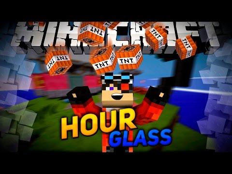 Minecraft Hour Glass: Жесткая мини игра