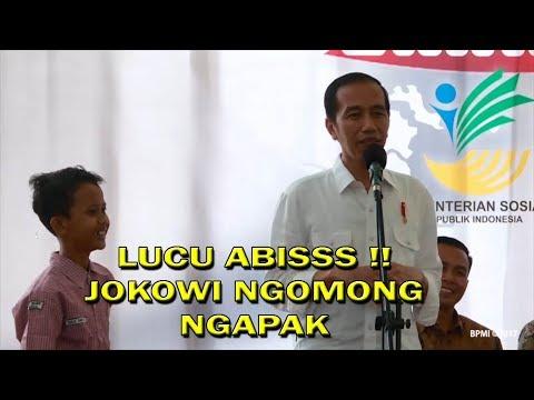 LUCU !!! Ternyata Jokowi Kurang Tahu Bahasa Ngapak Alhasil Diajari Anak SMP thumbnail