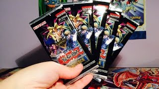 Opening 5 Yugioh The Darkside of Dimensions Movie Booster Packs