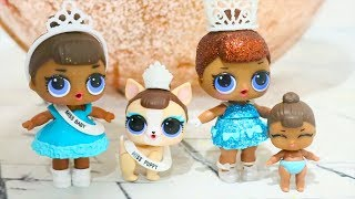 LOL Surprise Pets Blind Bag Balls - Animals Look Like L.O.L Dolls and Can Pee Cry & Color Change