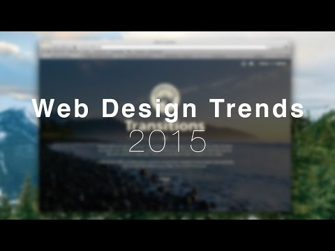 Web Design Trends 2015 - Google's Material Design
