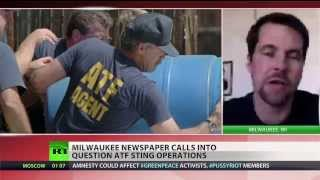 ATF agents entrap mentally ill people to arrest them  12/9/13