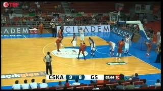 Galatasaray - CSKA Moscow 1st Half (Full Game)
