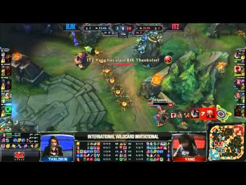 Turkey BJK (Energy Ahri) VS Brazil ITZ (Tockers Leblanc) Highlights - 2015 IWCI Day 2