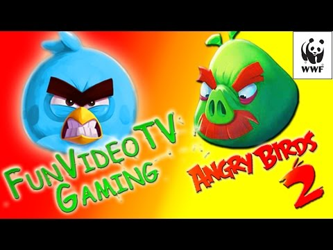 ANGRY BIRDS 2 – WWF Event  FunVideoTV walkthrough pt.1  - NOT  FunVideoTV - Style ;-))