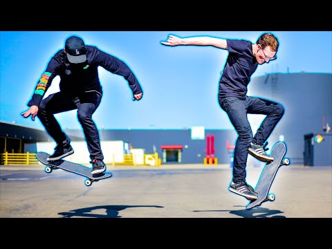 LEARN HOW TO SKATEBOARD FOR CASH CHALLENGE | ALEC LEARNS EP. 2