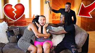 ABUSIVE BOYFRIEND PRANK ON CARMEN & COREY!!! (GETS VIOLENT)