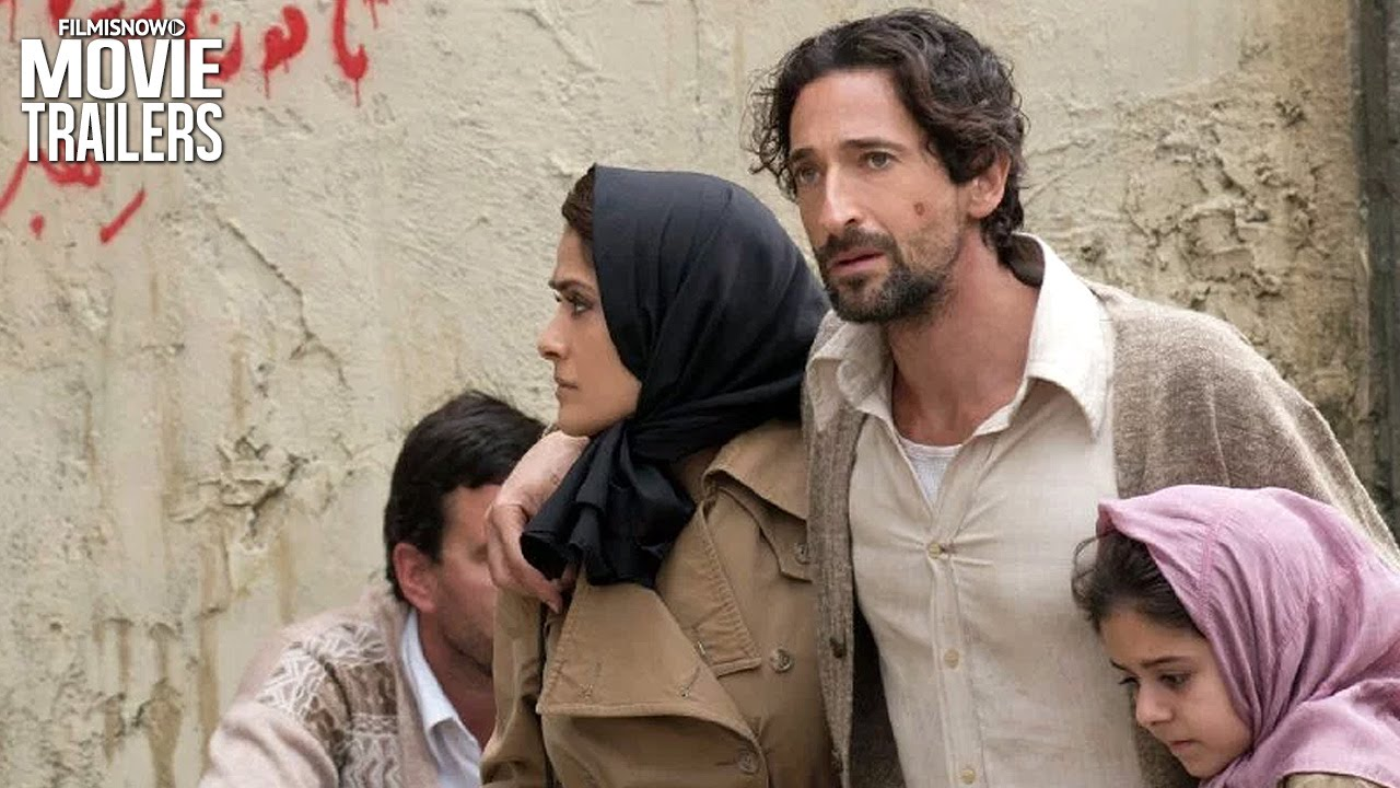 Salma Hayek and Adrien Brody Fight for Freedom in the emotional 'Septembers of Shiraz' Trailer