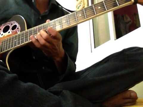Aaj Kal Tere Mere Pyar Ke Charche - Brahmachari on Guitar