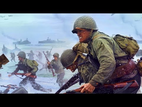 Новая - Call of Duty WWII gameplay  на максимальных настройках 60 fps