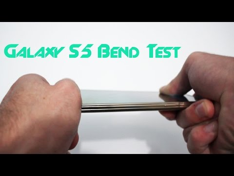 Samsung Galaxy S5 Bend Test (iPhone 6 Plus BendGate)