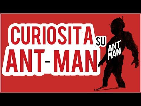 CURIOSITA' su ANT MAN - TOP 10