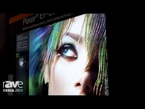 CEDIA 2014: Planar Intros the EP-Series High Performance Interactive Ultra HD Displays