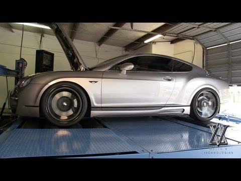 Bentley Continental GT - Delta-V Technologies