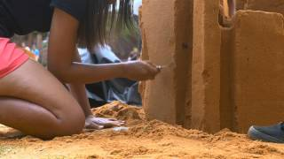 SANDitecture: Building sandcastles with a difference... building a future!