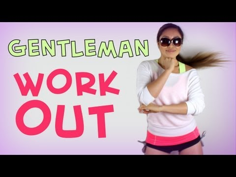 Psy Gentleman Challenge | Pop Pilates video