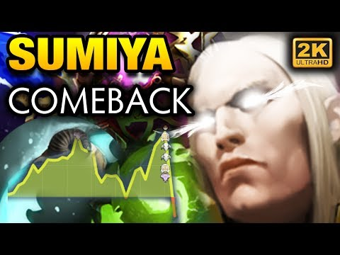 INVOKER SUMiYa Comback with Satisfied EPIC Play Dota 2