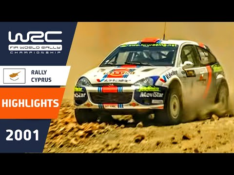 WRC Highlights: Cyprus 2001: 52 Minutes