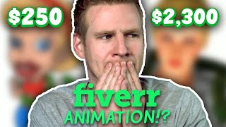 I Paid Animators on FIVERR To Finish My Cartoon...
