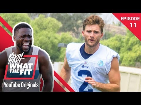LA Rams Training Camp with Scott Eastwood | Kevin Hart: What The Fit Ep 11 | Laugh Out Loud Network