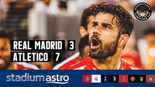 Real Madrid 3 - 7 Atletico Madrid | ICC 2019 Highlights | Astro SuperSport