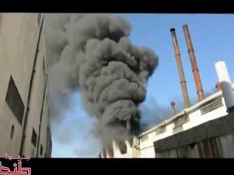 """: اندلاع حريق بمعمل """"فينوطيكس"""" يخلف خسائر مادية كبيرة"""