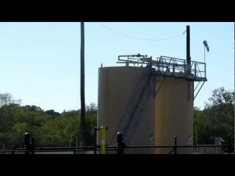 Chesapeake Energy Natural Gas Facility in Fort Worth, TX Leaking VOCs From a Produced Water Tank