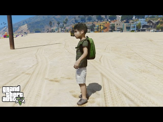 GTA 5 REAL LIFE CHILD MOD
