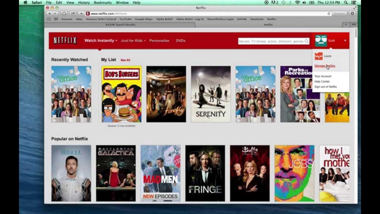 Netflix Profile Characters Change Netflix Profile to