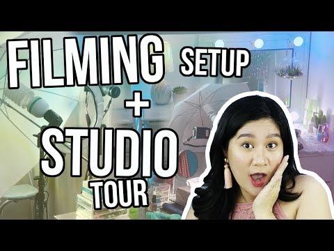 FILMING SETUP + STUDIO TOUR ( Philippines ) | Kris Lumagui